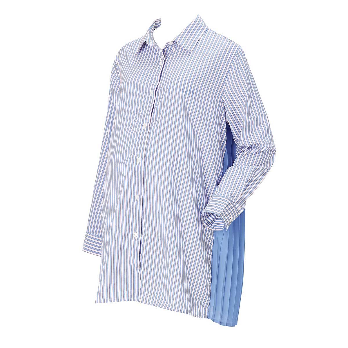 임부용 쉬폰 플리츠 셔츠(RTO2011L)
