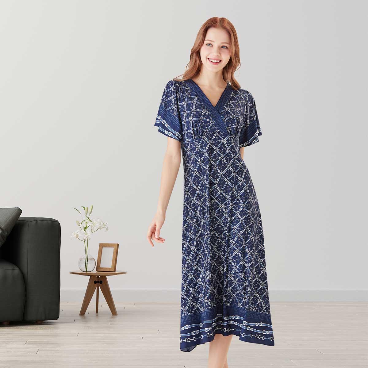 체인나염 컵 드레스(VGN7425)