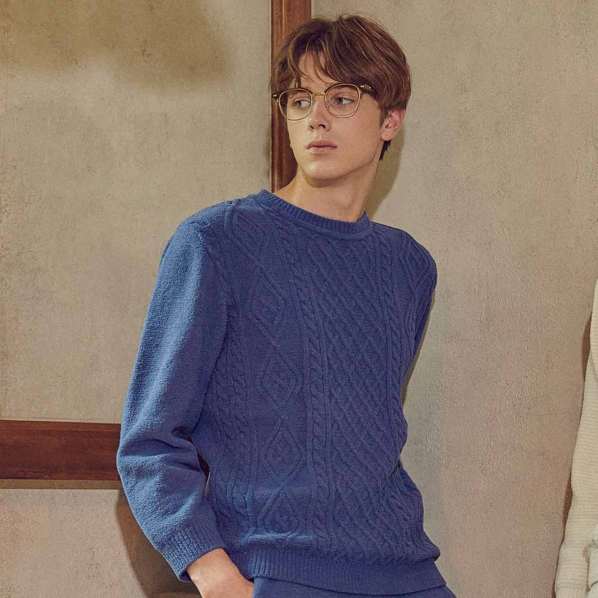 마쉬멜로 스웨터 남성 상의(WPA566MS)